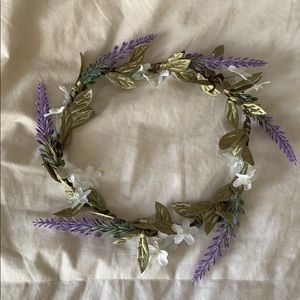Accessories - Lavender Flower Crown